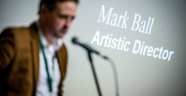 Mark Ball / Director of London International Festival of Theatre / photo Maciej Zakrzewski